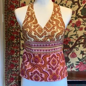 Old School Paisley Tank XS by Mary-Kate and Ashley